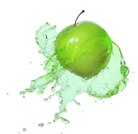 apple in juice photo