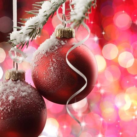 blue lights: decoration christmas