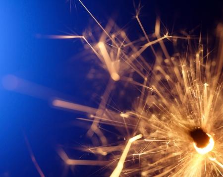 abstract sparkler photo