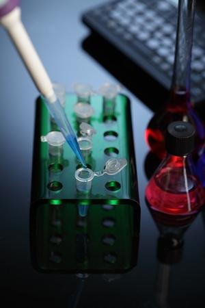laboratories experiment Stock Photo - 11173032