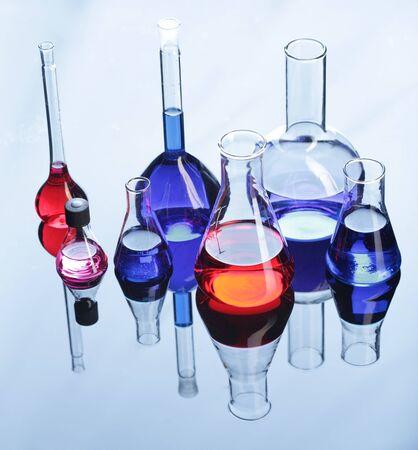 retort: retort on glass table