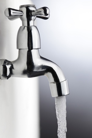 water faucet: tap Stock Photo