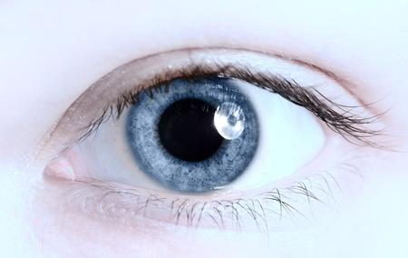 close up eye: occhio