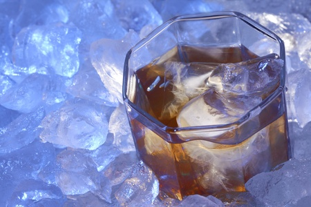 glass in ice photo