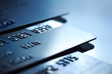 debts: card Stock Photo