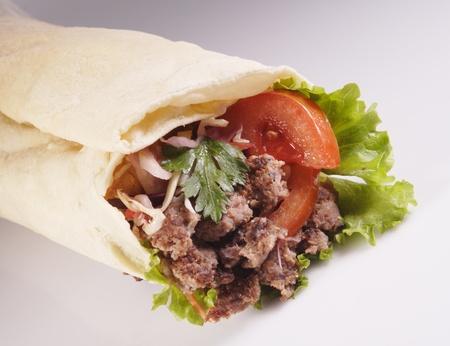 pita: kebab