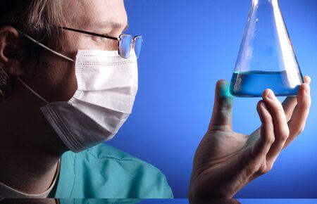 liquids:  science Stock Photo