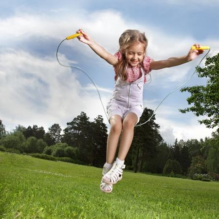 saltar la cuerda: saltar la cuerda