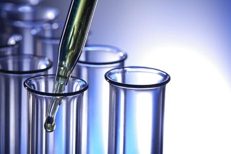 test  tube:  science Stock Photo