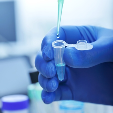 laboratories experiment Stock Photo