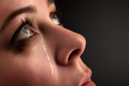 beautiful crying woman: beauty girl cry