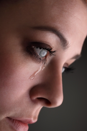 crying eyes: beauty girl cry