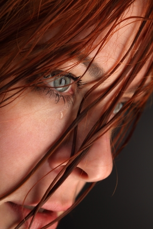 beauty girl cry Stock Photo - 14446779