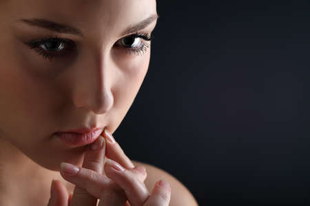 portrait of beauty woman close-up Stock Photo - 14740929