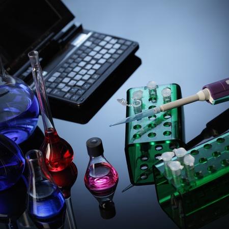 computer lab: lab Stock Photo