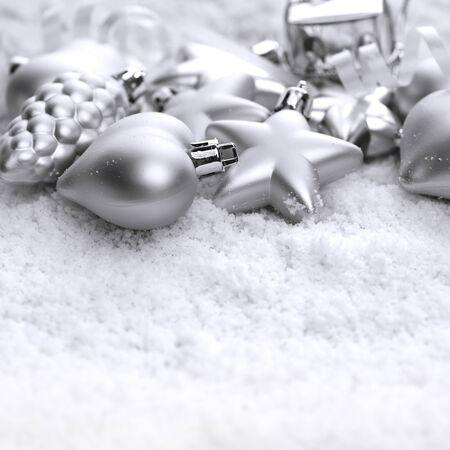 diciembre: decoraciones de Navidad Foto de archivo