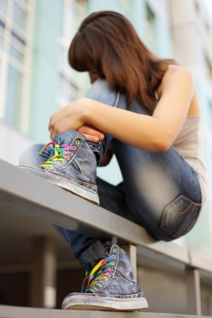 teenagers problem Stock Photo - 16595833