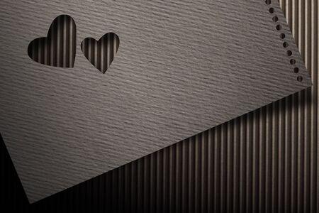 valentine s card: real texture valentine card