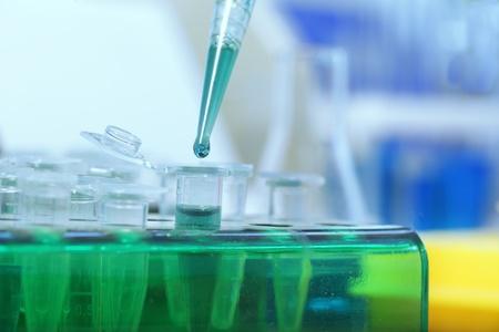 eppendorf: laboratories experiment Stock Photo