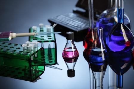 molecular biology: lab equipment Stock Photo