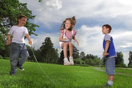 jump rope: saltar la cuerda
