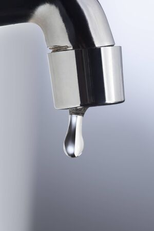 drain water: drain water from the tap Metal