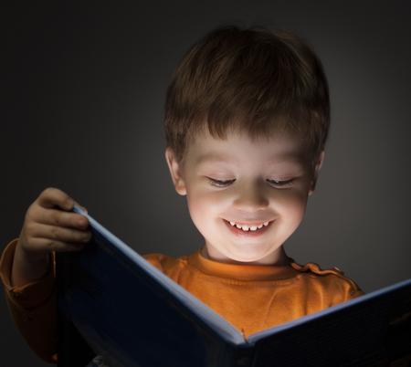 boy beautiful: little boy read book