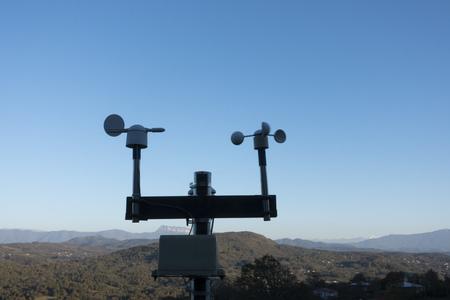 Scientific weather station in mountain Georgia.