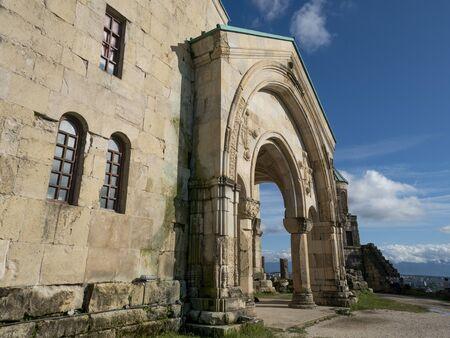 Bagrati Cathedral. Famous Landmark Of The Medieval Georgian Architecture, Kutaisi, Georgia.