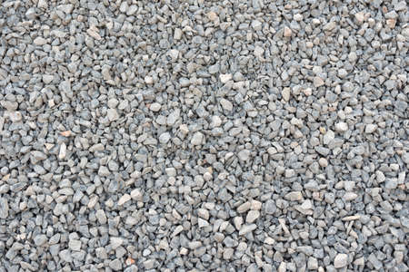 Crushed stone, gravel texture and background. Stok Fotoğraf