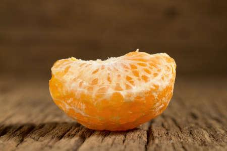 tangerine. sweet orange. on wooden. texture wooden. Stock Photo