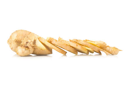 ginger isolated on white background.