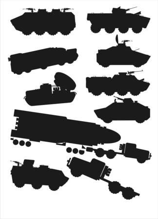 technics: military technics Illustration