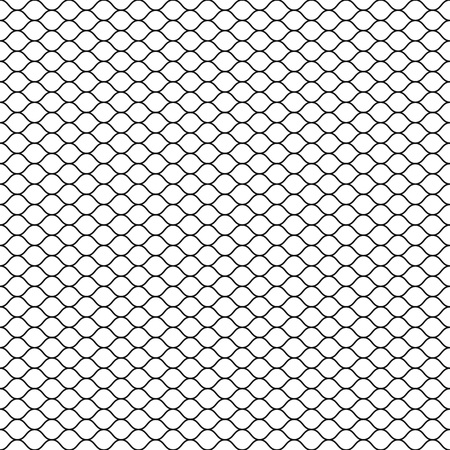 Wired fence icon. Illustration