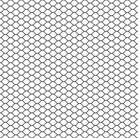 Wired fence icon. Ilustração