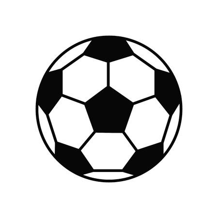 Soccer ball. Football. Vector icon Flat illustration
