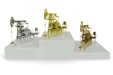 Wells - winners of the biggest oil production photo