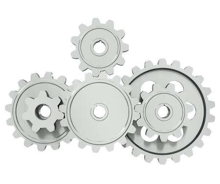 rueda dentada: El grupo de metales gears - un s�mbolo de trabajo en equipo