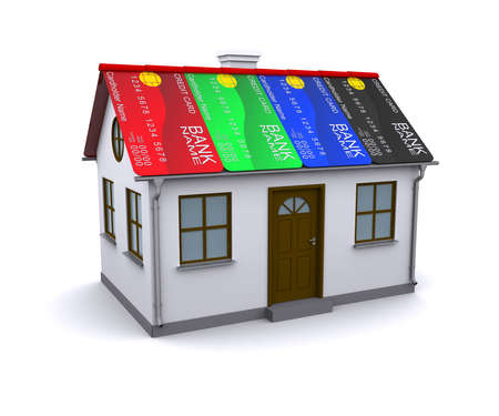 Credit Card Protection for your home Stock Photo - 12362608
