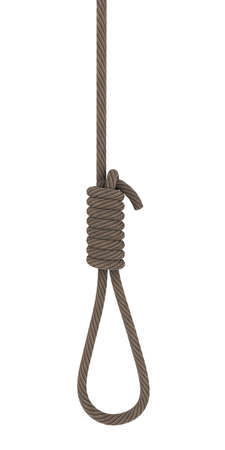 The rope for the gallows. 3D rendering Stock Photo - 12362565