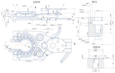 Sketch. Foratura automatica chiave Vettoriali