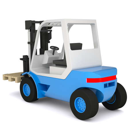 mini loader: Loader  Isolated render on a white background