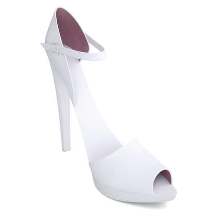Women s shoes  Isolated render on a white background photo