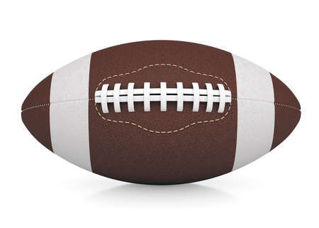 afc: Ball for American football  Isolated render on a white background