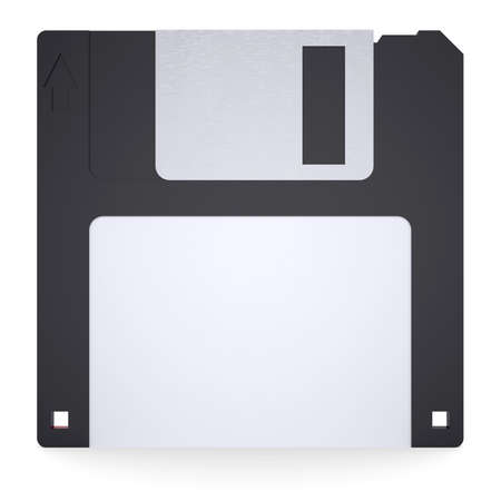 Floppy disk  Isolated render on a white background Stock Photo