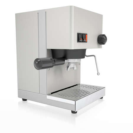 Coffee Machine  Isolated render on a white background photo