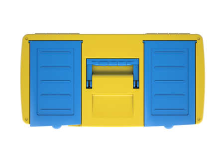 Plastic tool box  Isolated render on a white background photo