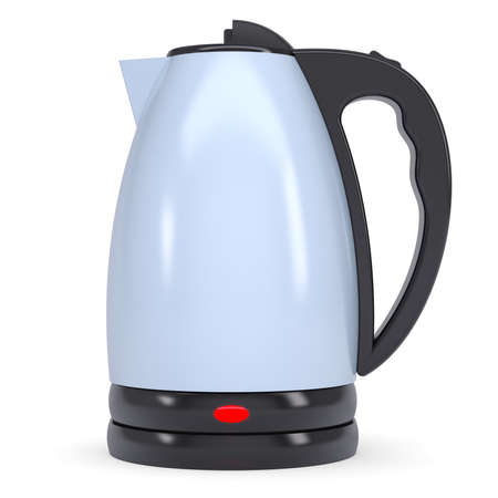 Electric kettle  Isolated render on a white background photo