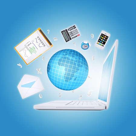 articulos oficina: Port�tiles y art�culos de oficina, el concepto de oficina digital
