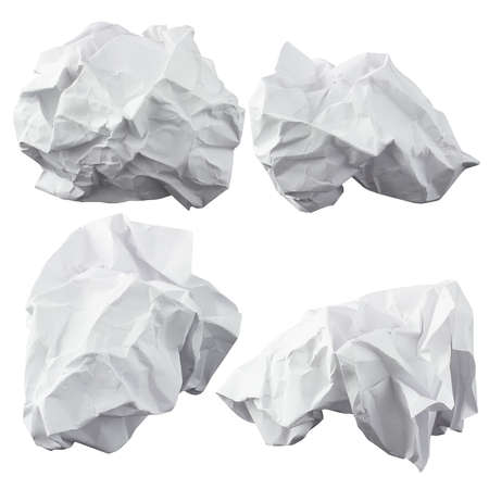 wad: Crumpled paper  Four lump  The design elements